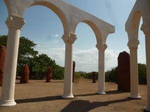 Encuentro de culturas simbolizado en Bariay, Cuba