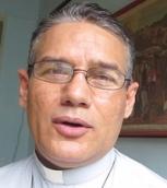 ElP. Pedro Pablo Ladrón de Guevara coordino los preparativos de los actos litúrgicos